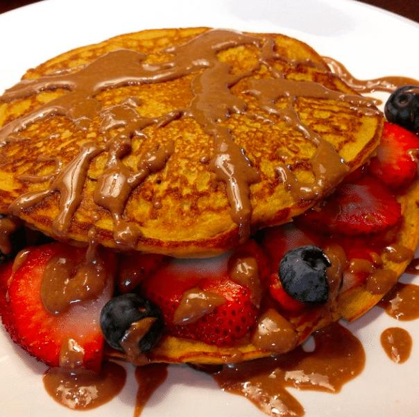 Sweet potato protein pancakes — Shrugged Collective