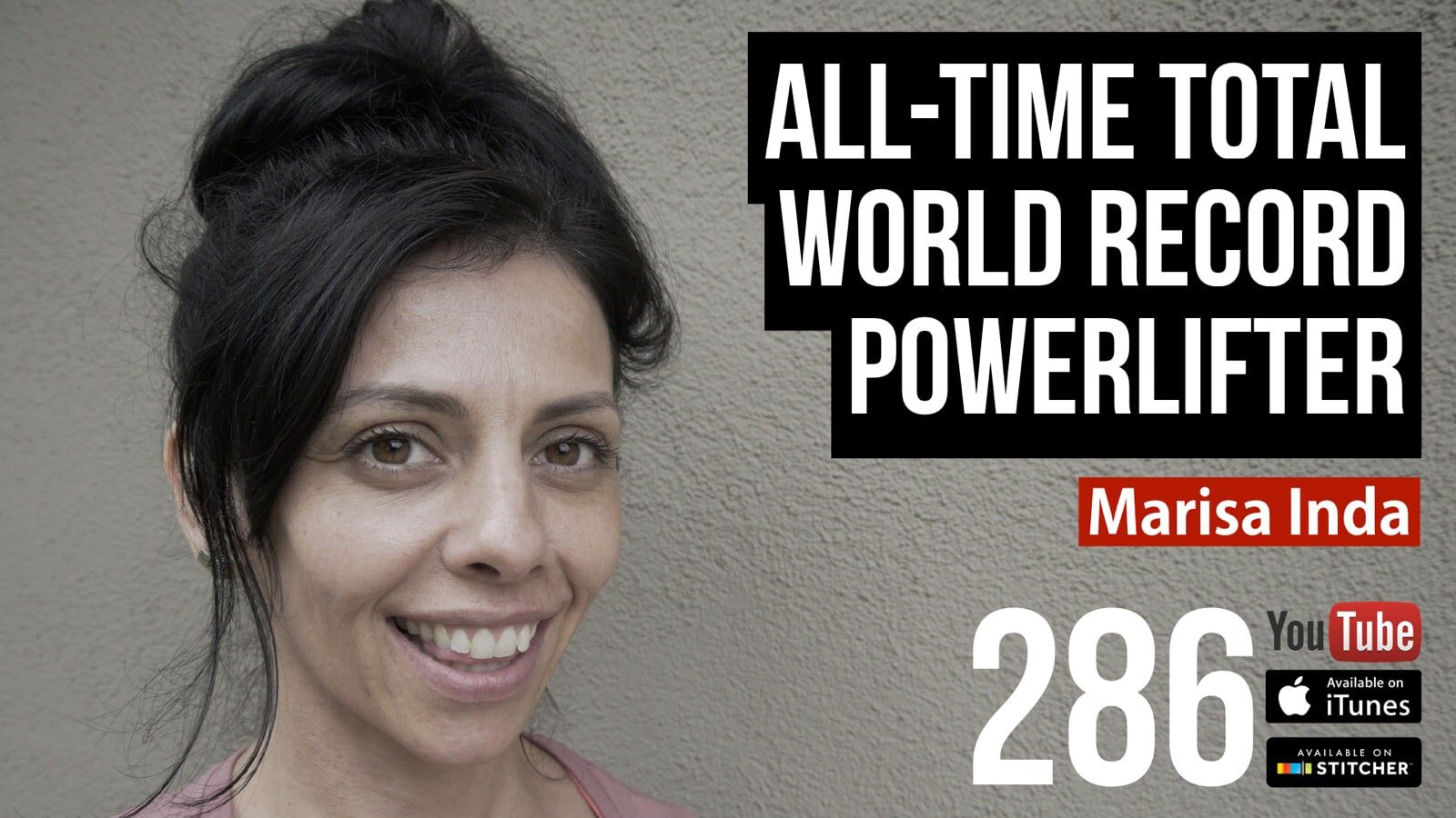 All-Time Total World Record Powerlifter — Marisa Inda — 286